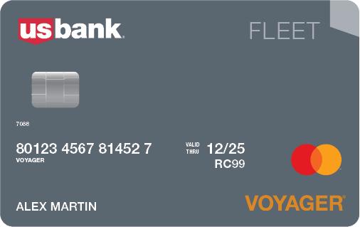 U.S. Bank Fleet Mastercard